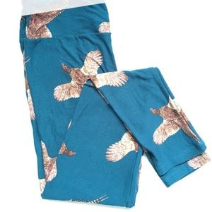 LuLaRoe pheasant leggings